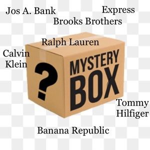 Mens Mystery Box Of 10 Clothing Items Resell/Keep